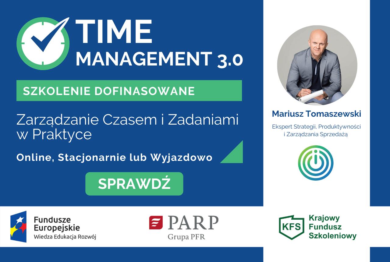 Szkolenie Zarządzanie Czasem - Time Management